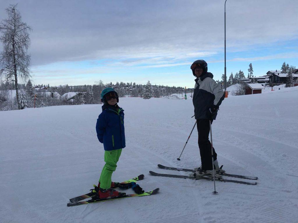 sidste skidag i Branäs